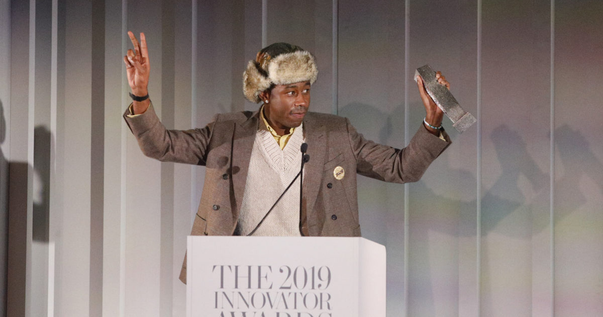 TYLER, THE CREATOR IS MUSICAL INNOVATOR OF THE YEAR